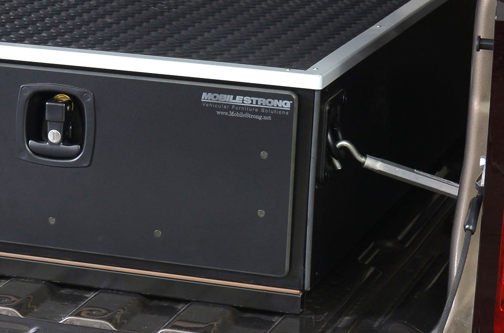 Storage drawers for trucks with 8 ft bed ms8 series waterfowl - Truck bed box drawers ...