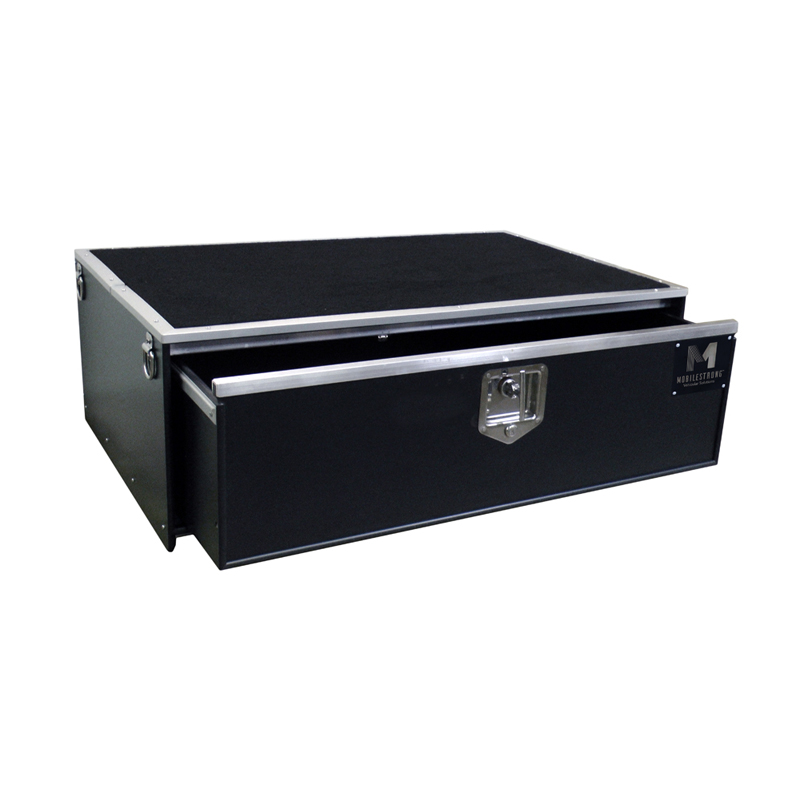 "HDP SUV Single Storage Drawer 46.5"" Wide - Rubber Top"