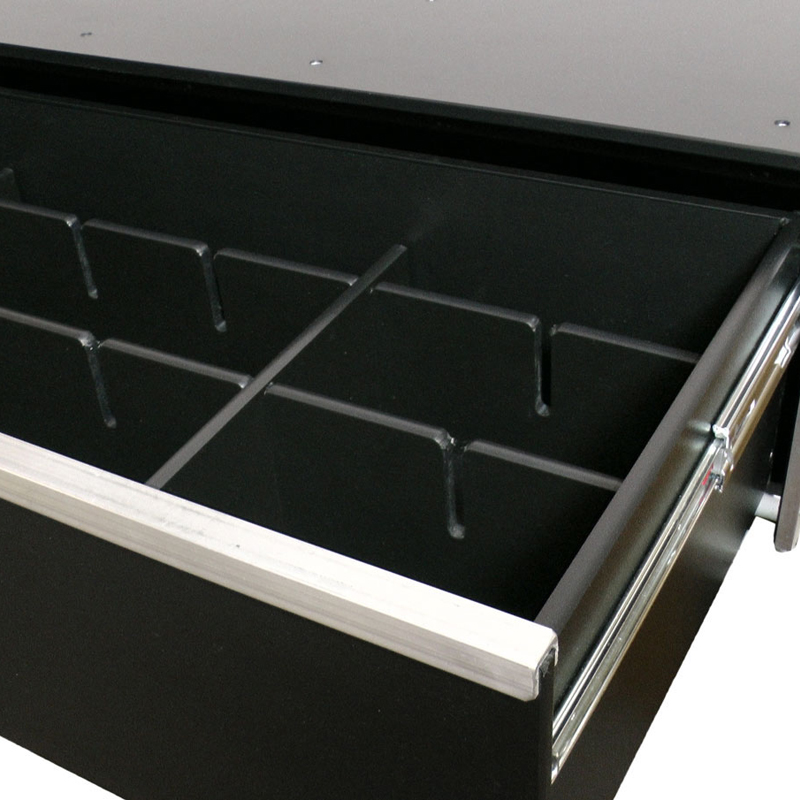 Universal Drawer Divider Kit - 4 Piece Interlocking Dividers