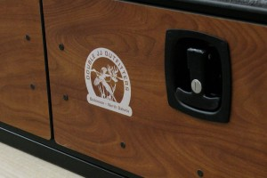 2 Drawer SUV Storage - Laser Engraved Logo