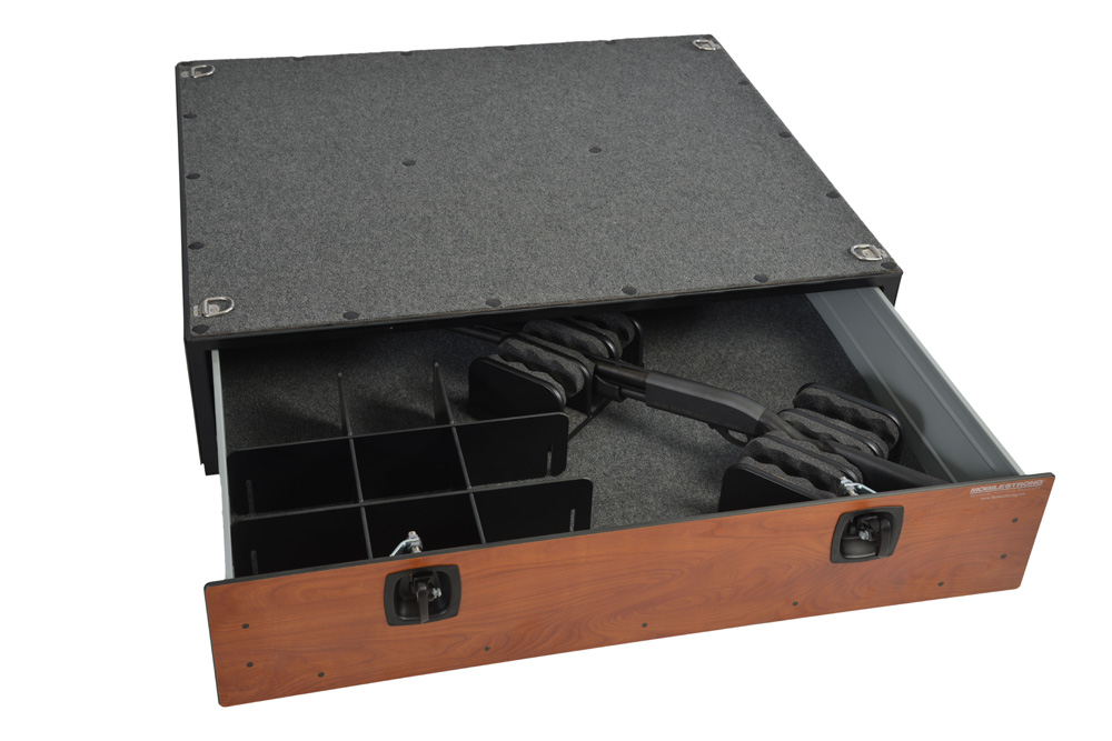 Vehicle Gun or Weapon Storage Kits for MobileStrong Drawers
