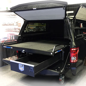 Truck Bed Storage Drawers & Slide Systems
