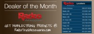 Radco Truck Accessories MobileStrong Dealer of the Month