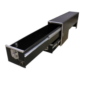 Truck Bed Drawer >> Over the Wheel Well Storage Drawers for Trucks | HDP Models
