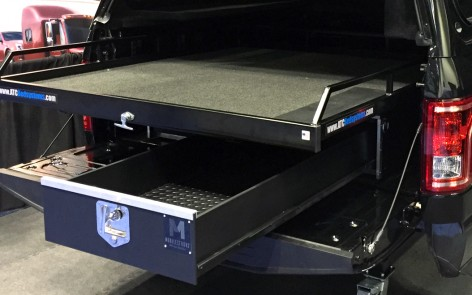 Truck Bed Dimensions >> Store 'n Pull Truck Storage Drawer Bed System Slides | HDP ...
