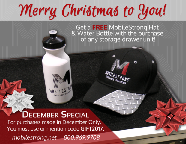 FREE MobileStrong Hat & Water Bottle