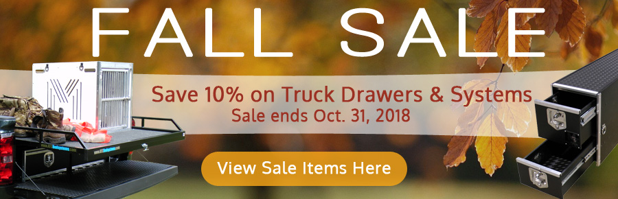 Fall Sale 10% Off MobileStrong Truck Boxes & Systems